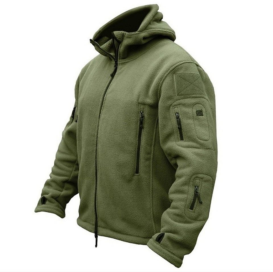US $21.75 66% OFF|Men US Military Winter Thermal Fleece Tactical Jacket Outdoors Sports Hooded Coat Militar Softshell Hiking Outdoor Army Jackets|jacket Nepal|jacket Newjacket Trouser - AliExpress