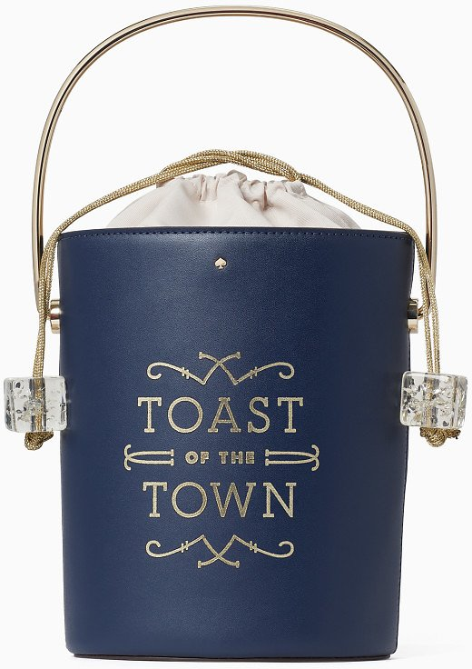 Steal The Spotlight Champagne Bucket Bag