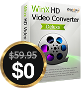 Free Get WinX HD Video Converter Deluxe (Was $59.95) On Black Friday