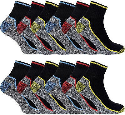 SOCK SNOB - Mens Breathable Ankle Cotton / Bamboo Work So Clothing, Shoes & Accessories>Men>Men's Clothing>Sockcks | Reinforced