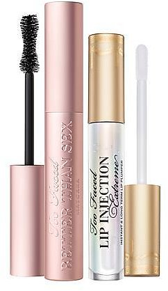 Too Faced Better Than Sex Mascara & Lip Injection Extreme Lip Plumper - 9840888 | HSN
