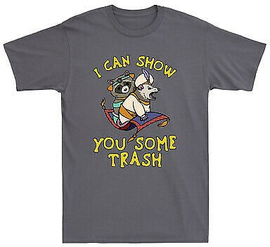 I Can Show You Some Trash Raccoon and Possum Funny Men's T-Shirt Cotton Tee Top