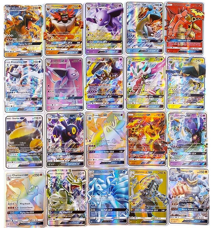 US $3.52 38% OFF|300 Pcs No Repeat Pokemons GX Card Shining TAKARA TOMY Cards Game TAG TEAM VMAX Battle Carte Trading Children Toy|Game Collection Cards| - AliExpress