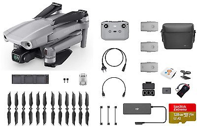 DJI Mavic Air 2 Fly More Combo 4K Plus Pro Bundle 190021016132