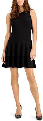 Michael Kors Petite Flounce Dress