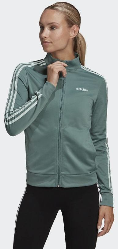 Adidas Essentials Tricot Track Jacket - Green | Adidas US