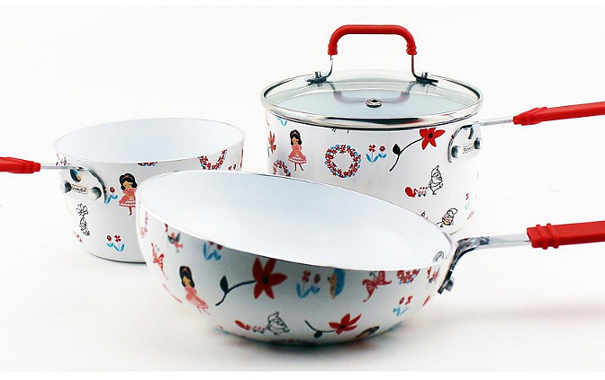 Cook'N'Co Children's 4-Pc. Cookware Set