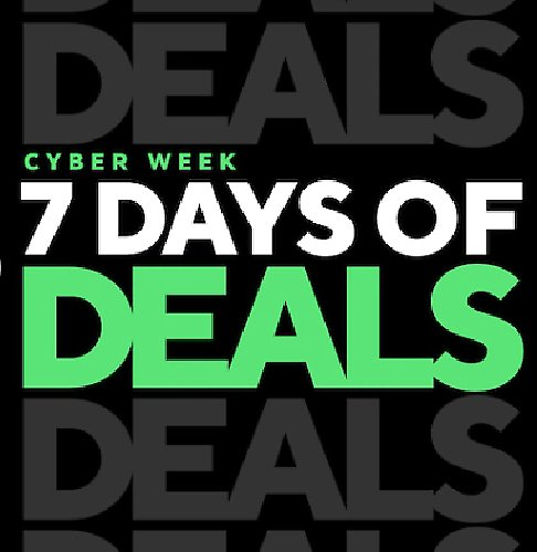7 Days of Cyber Deals Event