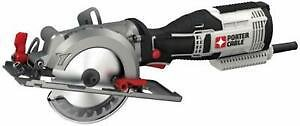 Porter-Cable 5.5 Amp 4-1/2 In. Compact Circular Saw Kit PCE381K New