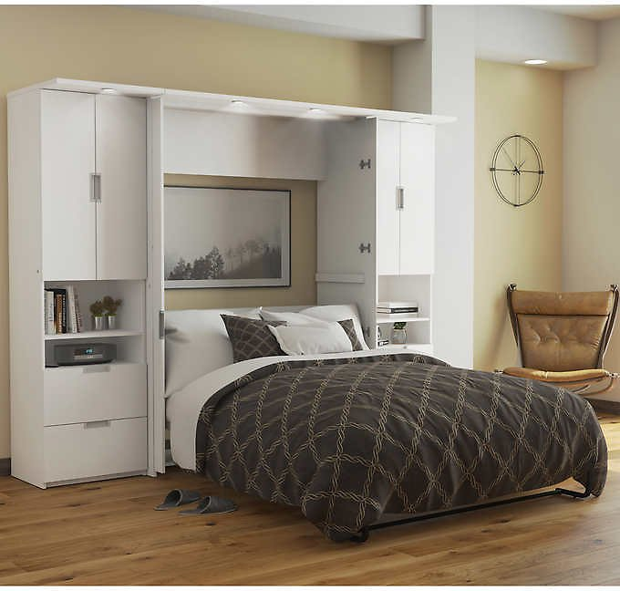 Lumina Full Wall Bed with Two 23.5