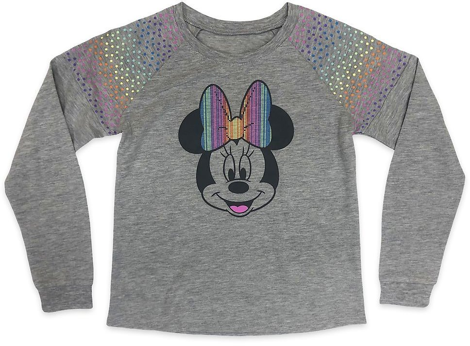 40% OFF | Minnie Mouse Long Sleeve T-Shirt for Girls | ShopDisney