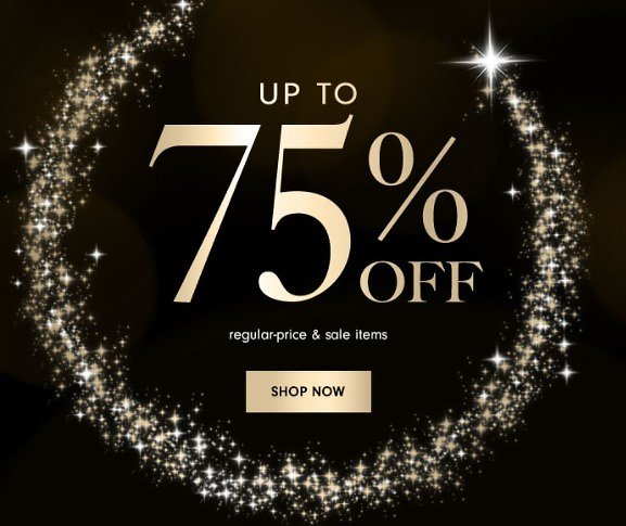 Black Friday Sale: Up to 75% Off At Neiman Marcus