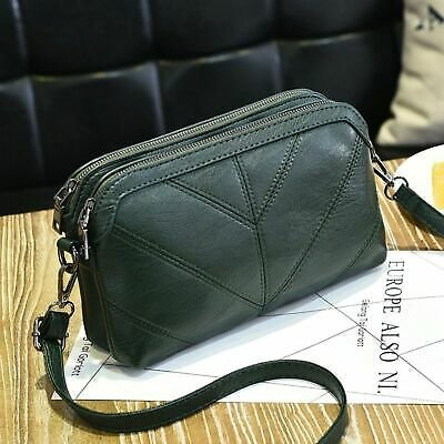 Bag Women Luxury Messenger Handbag Shoulder Soft Leather Fashion Lady Cross Body