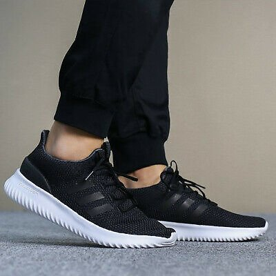Adidas Neo CLOUDFOAM Ultimate Trainer Casual Shoes Sneakers Black CG5800