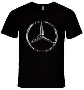 MERCEDES BENZ LOGO PRINTED T Shirt