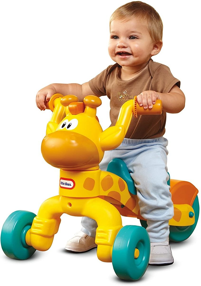 Little Tikes Go and Grow Lil' Rollin' Giraffe Ride-On Toy