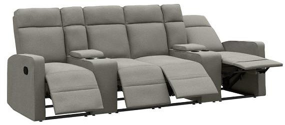 ProLounger 114-in 4 Seat Reclining Sofa