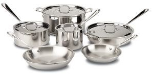 All-Clad All Clad Stainless Steel 10-Piece Set