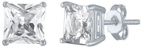 LIMITED TIME SPECIAL! 2.5 CT.T.W. Princess Cut Lab-Created White Sapphire Stud Earrings in Sterling Silver