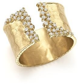 Bloomingdale's Diamond Cuff Ring in 14K Yellow Gold, .30 Ct. T.w. Jewelry & Accessories - Bloomingdale's
