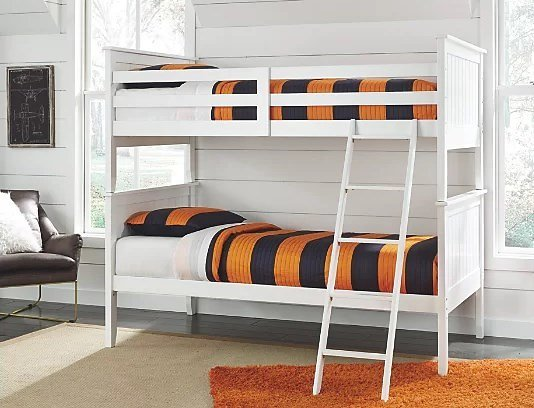 Lulu 3-Piece Twin Over Twin Bunk Bed | Ashley Furniture HomeStore