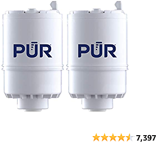 PUR RF3375 Water Filter Replacement for Faucet Filtration Systems, 2 Pack, Multicolor, 2 Count