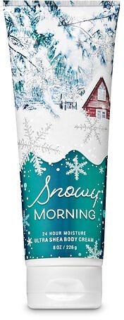 Signature Collection Snowy Morning Ultra Shea Body Cream