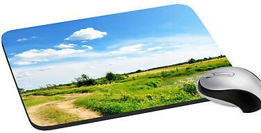 Nature Mice Comfort Laptop Computer PC Mouse Pad Soft Rubber Mat 7.2X8