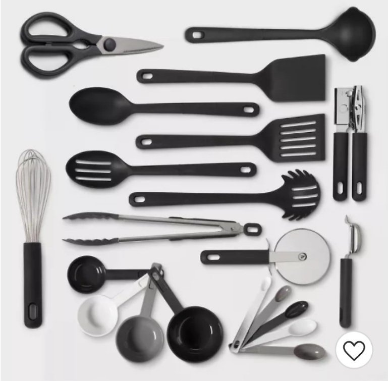 13pc Soft Grip Kitchen Utensil Set - Made By Design™