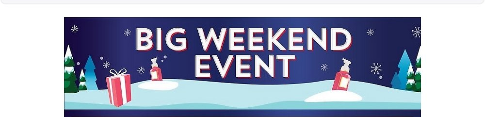 Big Weekend Event! Bath & Body Works: Body Care & Home Fragrances You'll Love