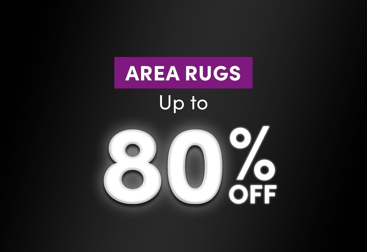 Up to 80% On Area Rugs