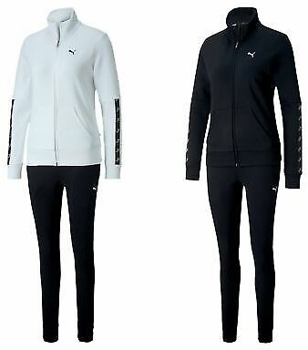 Puma Womens Amplified Track Sweat Suit CL/Tracksuit