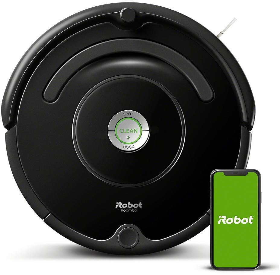 IRobot Roomba 675 Wi-Fi Connected Robot Vacuum Cleaner