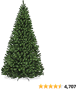 Best Choice Products 7.5ft Premium Spruce Artificial Holiday Christmas Tree for Home, Office, Party Decoration w/ 1,346 Branch Tips, Easy Assembly, Metal Hinges & Foldable Base