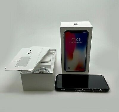Apple IPhone X 64GB Space Grey Unlocked A1901 UK Version FAST Shipping