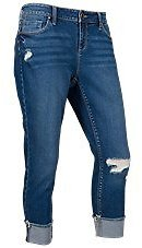 Natural Reflections Winston Cuffed Capris for Ladies | Bass Pro Shops