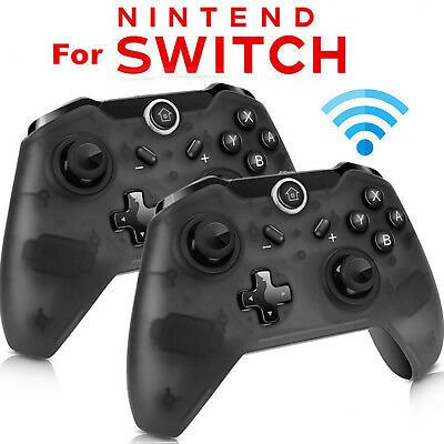 Save 11% ON 1x 2x Wireless Pro Controller Gamepad Joypad Remote for Nintendo Switch Console
