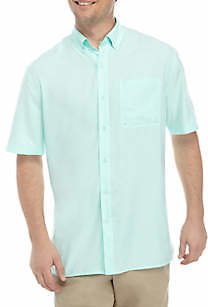 Ocean & Coast® Men's Short Sleeve One Pocket Fishing Shirt