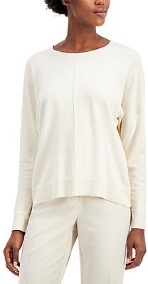Alfani Seam-Front Sweater, Created for Macy's & Reviews - Sweaters - Women