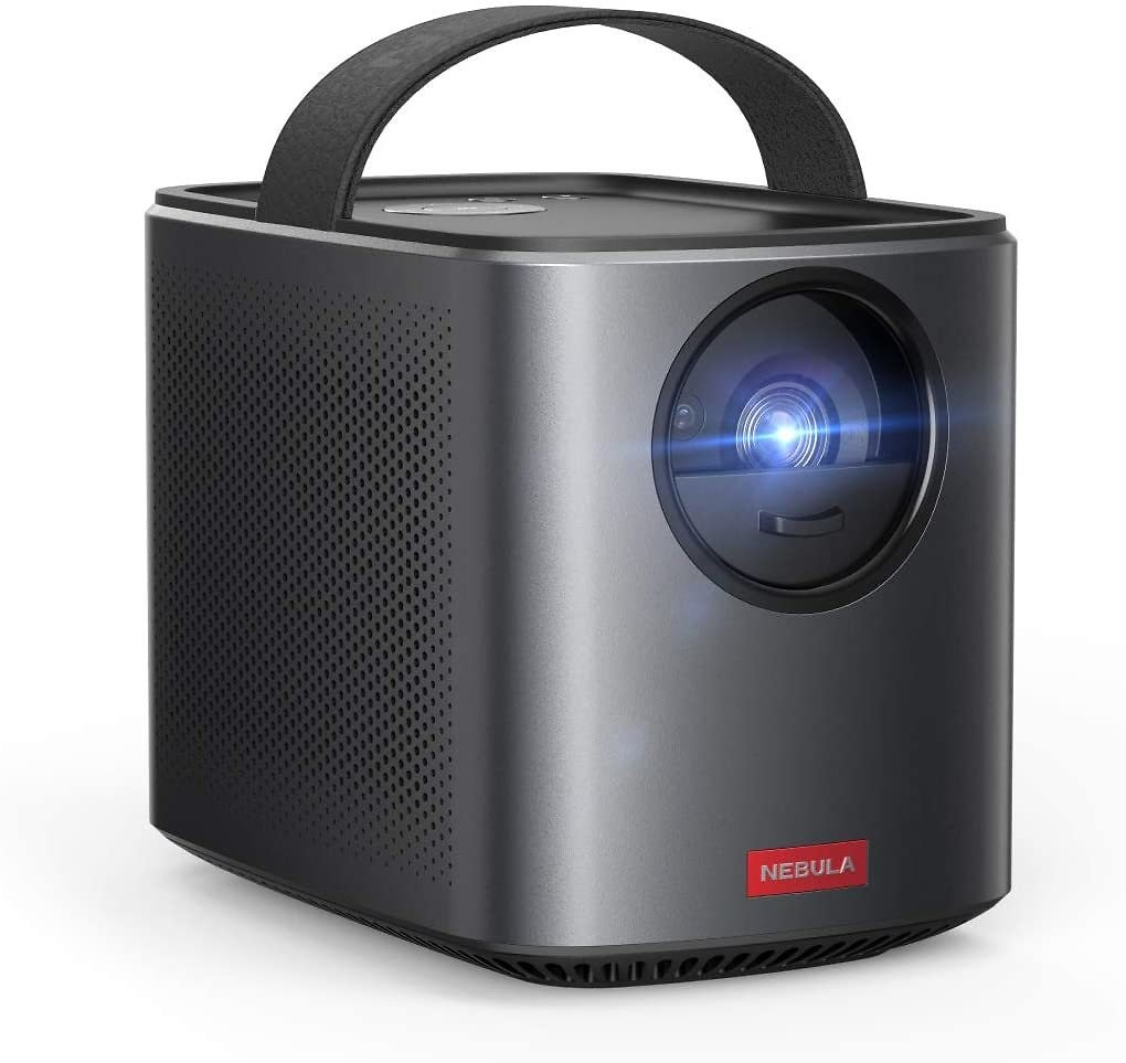 Anker Nebula Mars II Pro 500 ANSI Lumen Portable Projector, Black, 720p Image, Video Projector