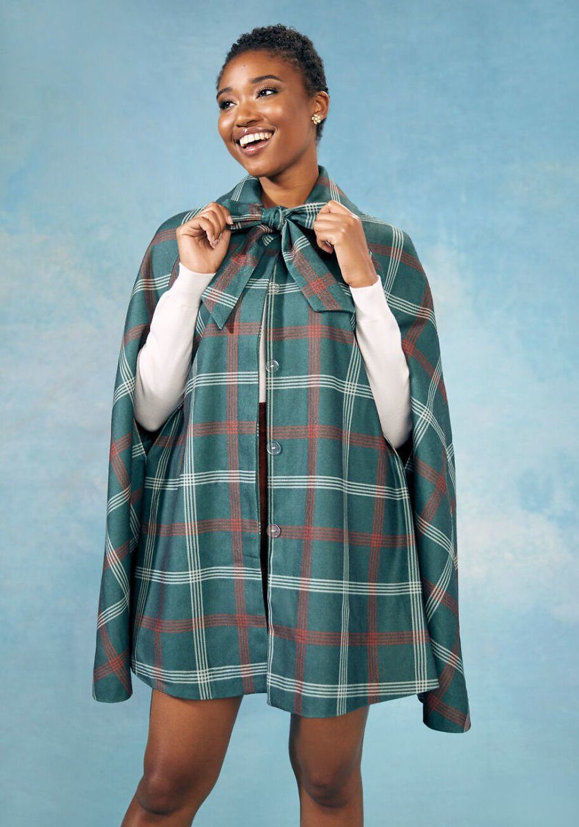 ModCloth X Collectif Mystery Solved Cape
