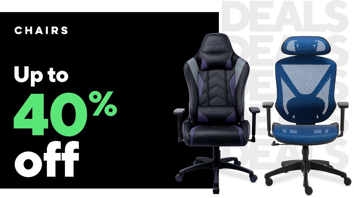 Up to 40% Off Select Chairs - Staples