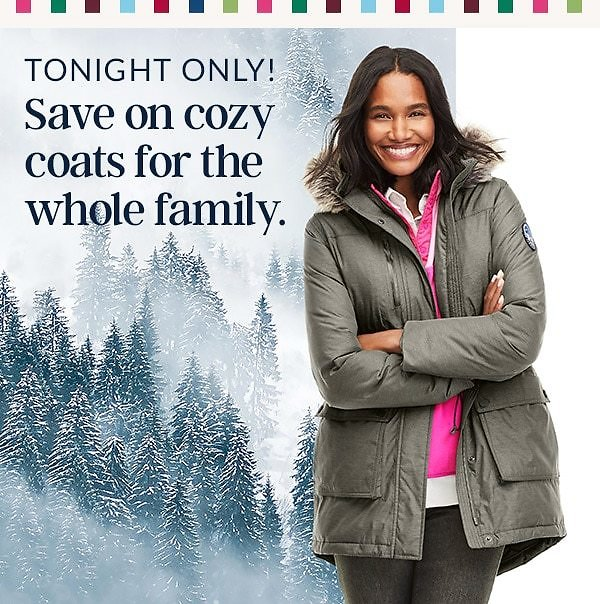 Tonight Only! 65% Off Our MVP Coats & Jackets