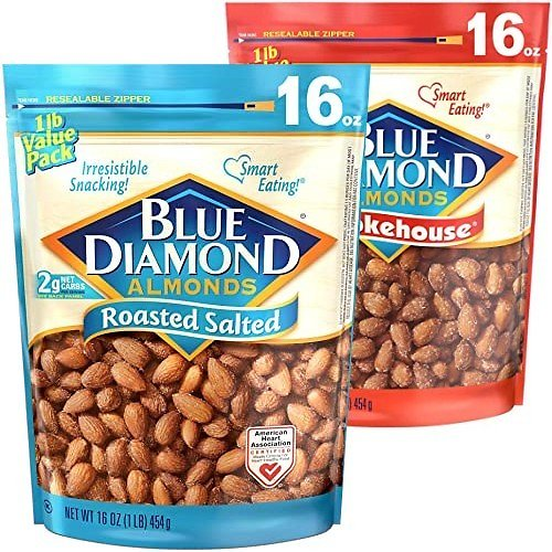 $5.99 Blue Diamond Almonds (5 Flavors)