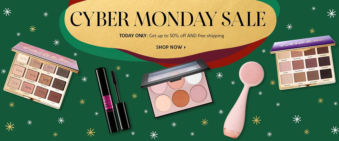 Today Only! Cyber Monday Sale Up to 50% Off + Free Shipping