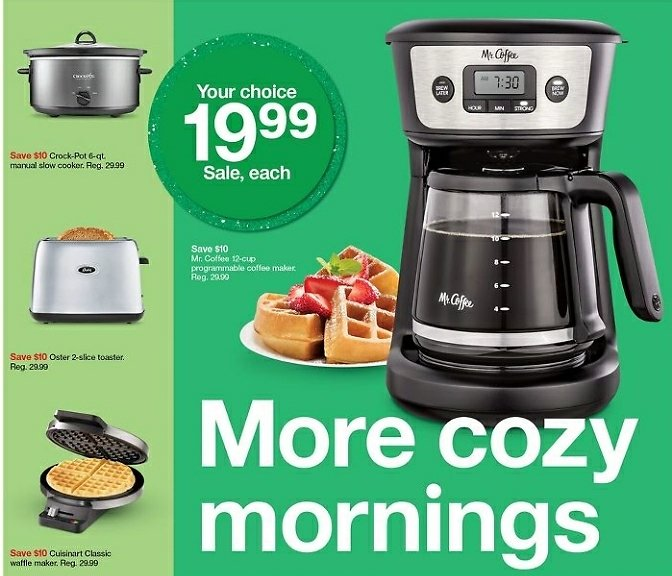 Only $19.99 Small Kitchen Appliances