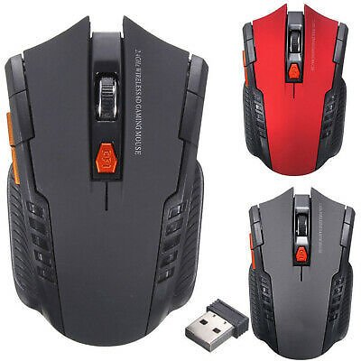 2.4Ghz Mini Wireless Optical Gaming Mouse Mice USB Receiver For PC Laptop JT