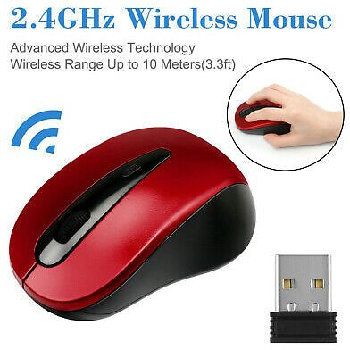 2.4Ghz Mini Wireless Optical Gaming Mouse Mice+USB Receiver For PC Laptop 2020
