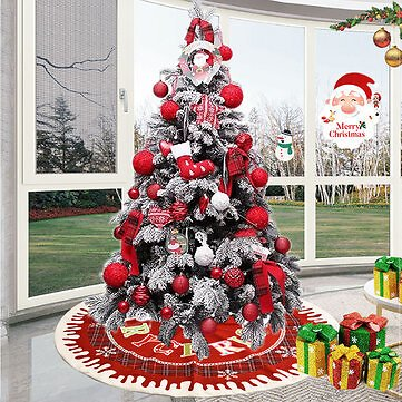 Christmas Santa Tree Mat Blanket Carpet Base Ornament Decoration Apron Wrap for Indoor Outdoor Party DecorFestival Gifts & Party SuppliesfromHome and Gardenon Banggood.com