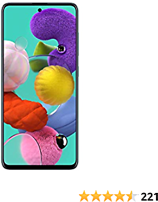 Samsung Galaxy A51 Factory Unlocked Cell Phone | 128GB of Storage | 2020